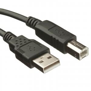 2.0m  USB 2.0 A/b Cable - Noir  + 10.80€