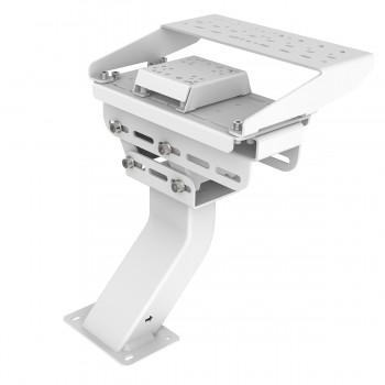 Support Levier de vitesses et frein à main pour RSeat B1 Blanc
