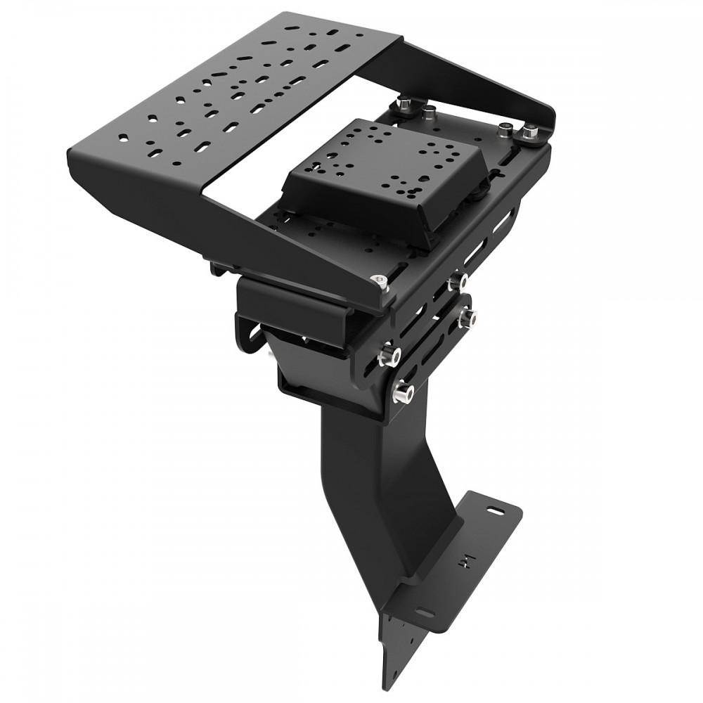 Support Levier de vitesses et frein à main pour RSeat P1 Noir