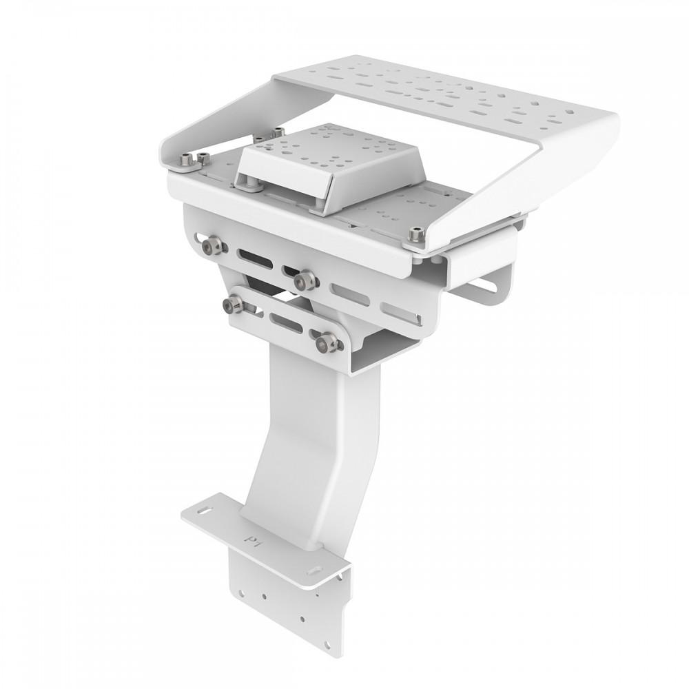 Support Levier de vitesses et frein à main pour RSeat P1 Blanc