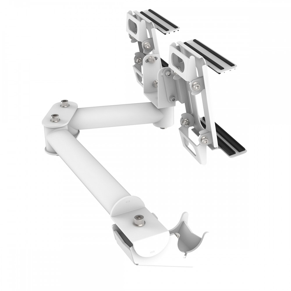 Support Tablette et Buttonbox pour RSeat B1 / C1 / P1 Blanc