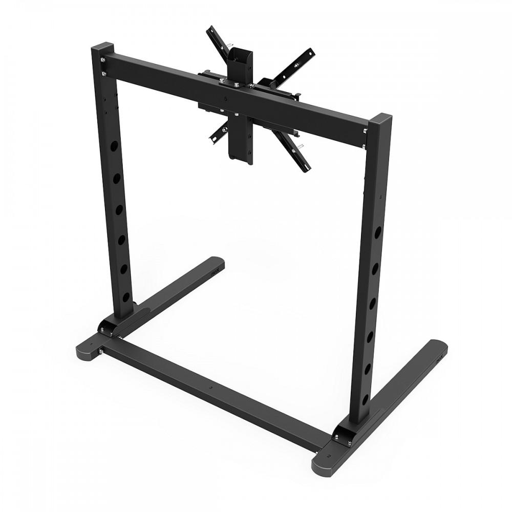 TV STAND SX90 Noir - TV Stand Simple écran de 27 à 90 Pouces