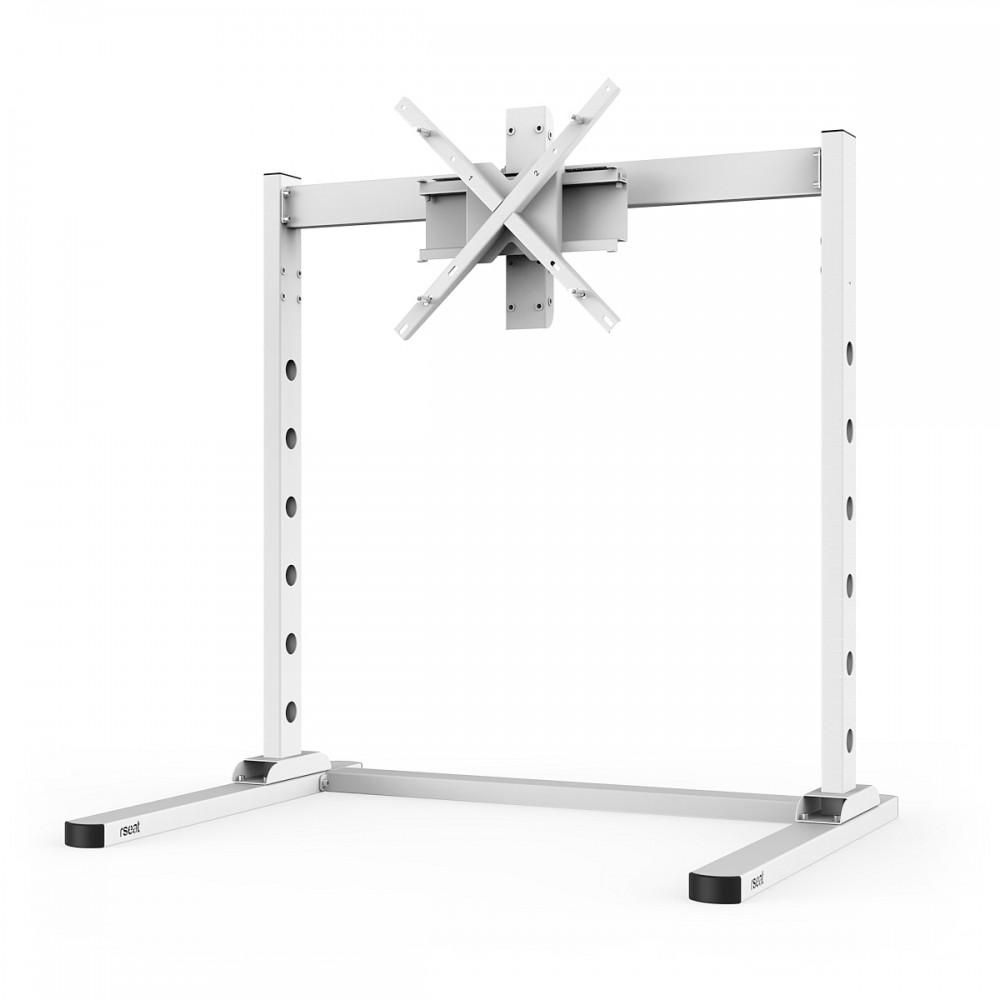 TV STAND SX90 Blanc - TV Stand Simple écran de 27 à 90 Pouces