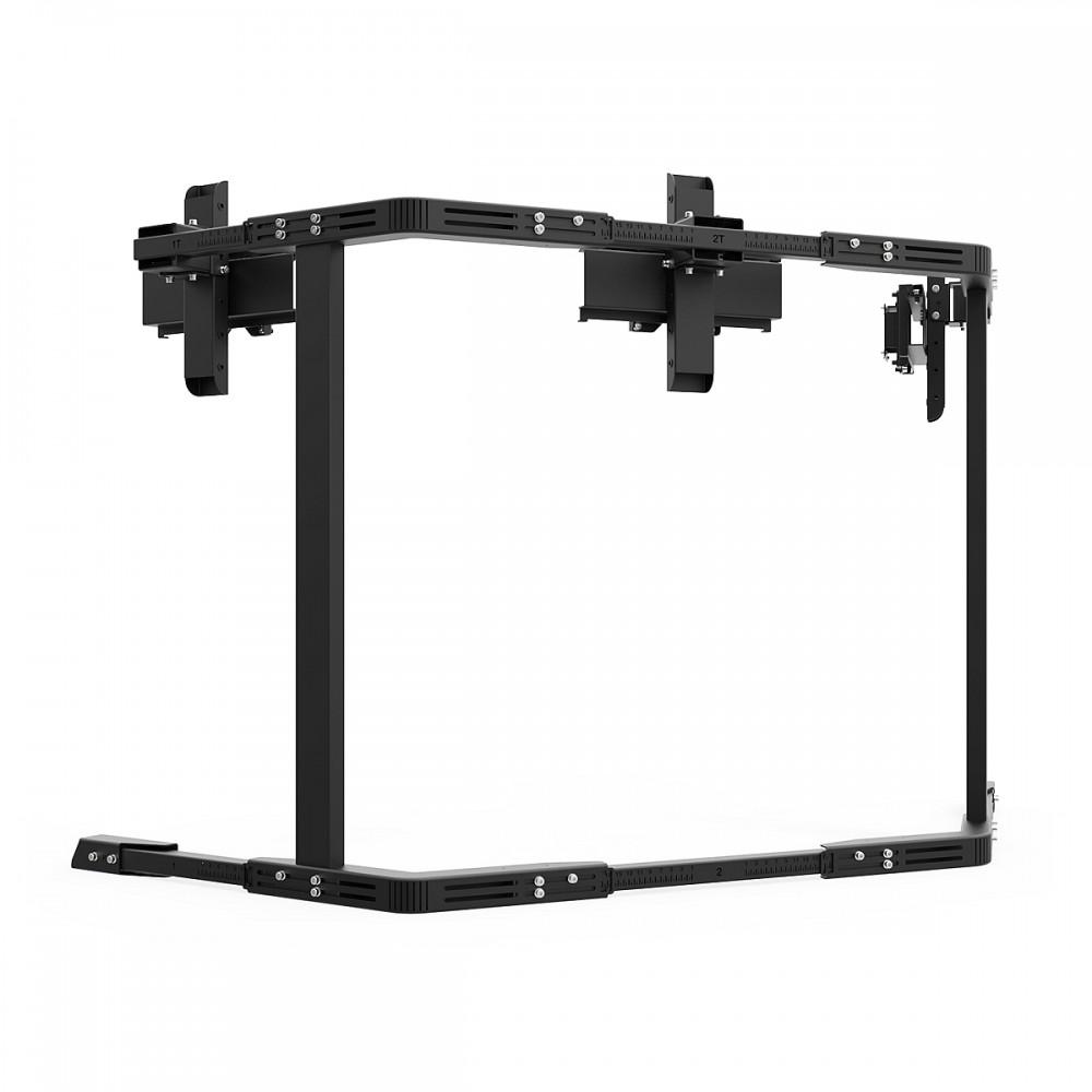 TV STAND TX40 Noir - TV Stand Support Triple écran 27 à 40 Pouces