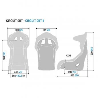 Sparco Circuit II QRT Gaming Seat
