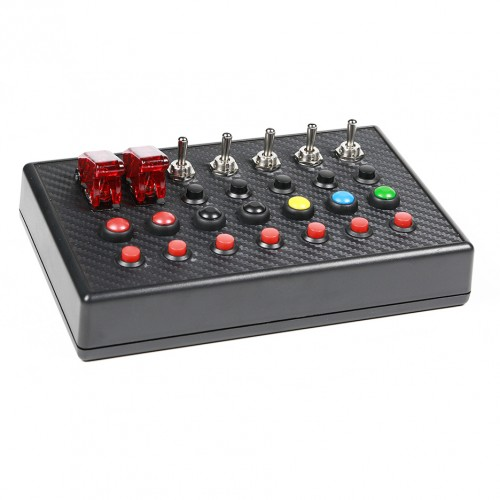 Kit RS1 Buttonbox Support + DSD Track Boss Buttonbox + USB + 3M