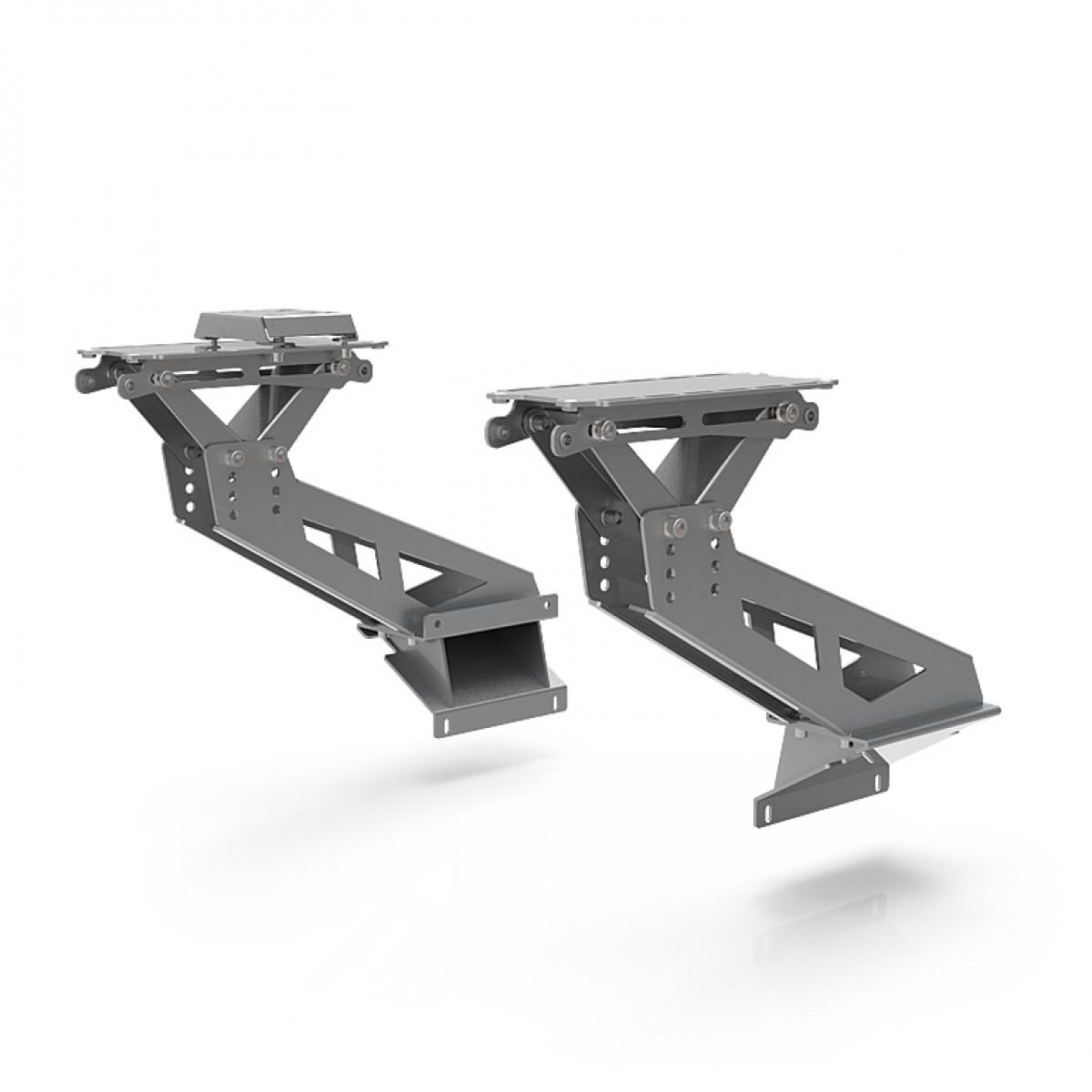 S1 Flight Mount Upgrade Kit Argent Support pour Thrustmaster HOTAS Warthog