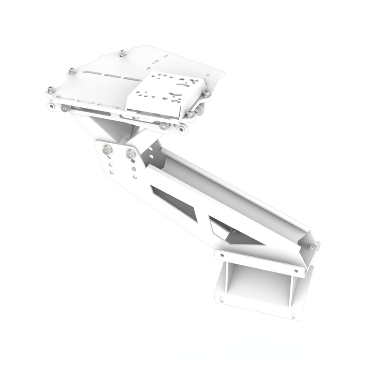 Support shifter et frein à main pour RSeat S1 Blanc