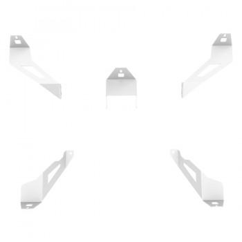 Support kit haut parleur Argent Logitech Z-906 pour RSeat S1