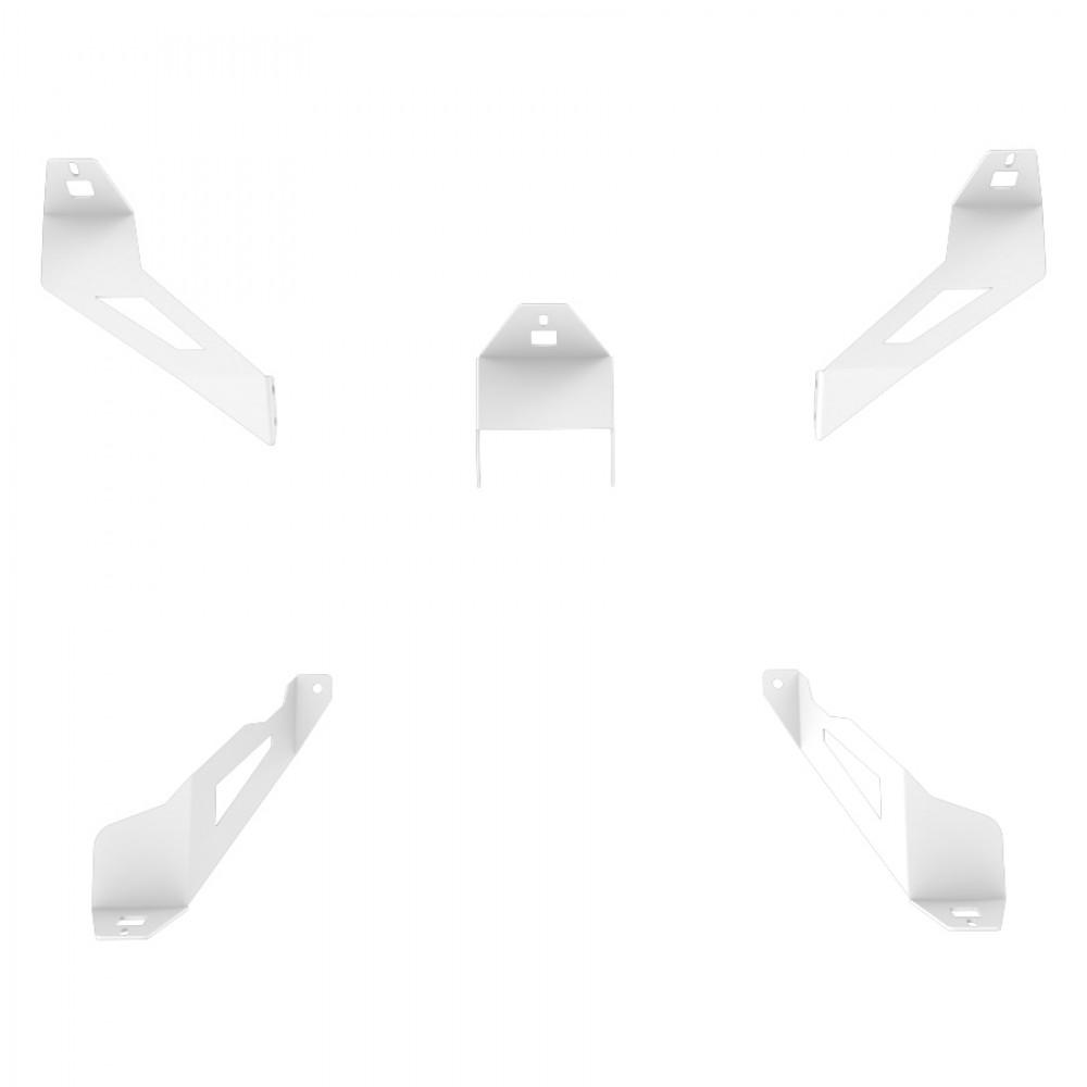 Support kit haut parleur Blanc Logitech Z-906 pour RSeat S1