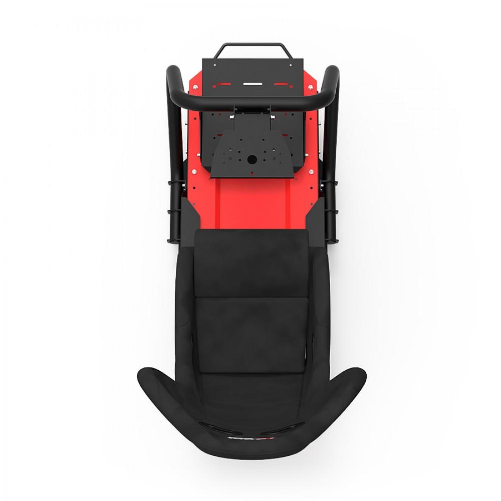 S1 Alcantara Châssis Noir/Rouge