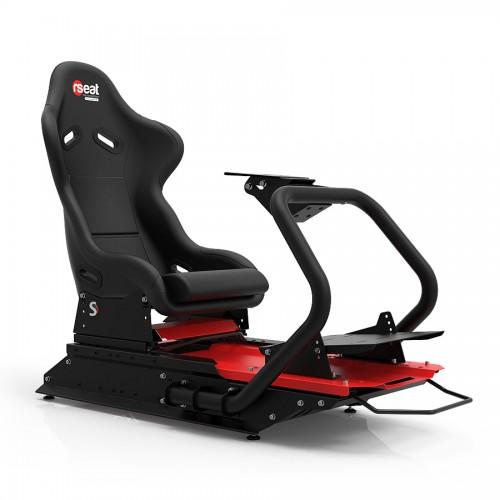 S1 Noir Châssis Noir/Rouge