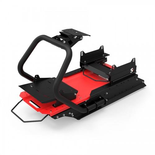 S1 Châssis Noir-Rouge sans baquet