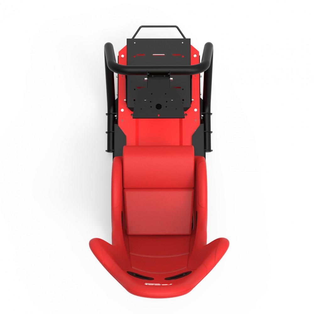 S1 Rouge Châssis Noir/Rouge