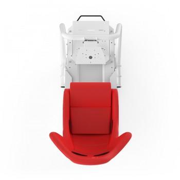 S1 Rouge Châssis Blanc