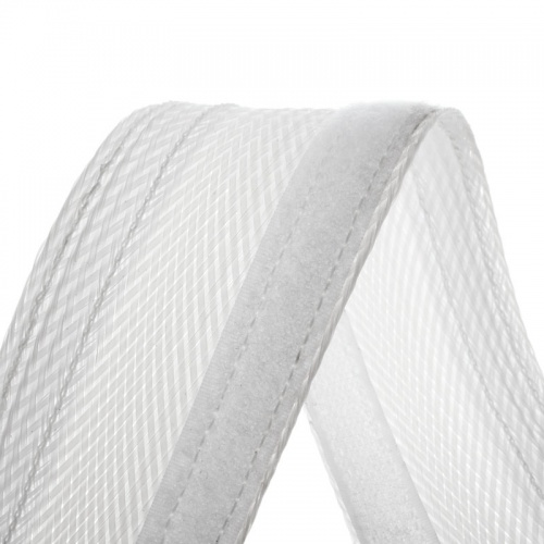 GAINE TRESSEE EXTENSIBLE 18 à 31mm Flexo Wrap blanche au mètre