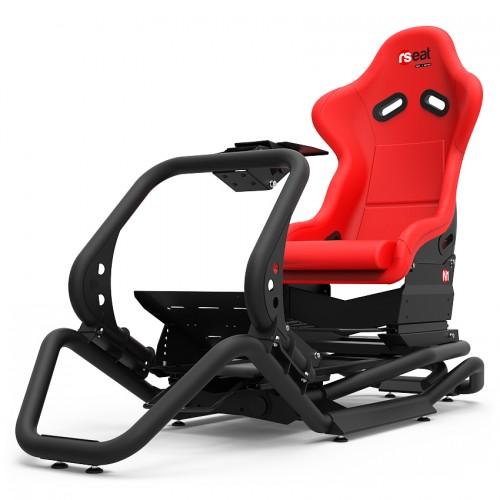 N1 Noir Baquet rouge
