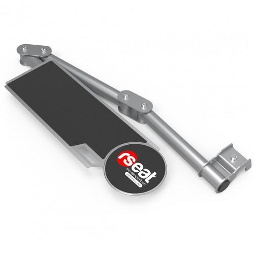 Support clavier Gris métallisé pour RSeat N1