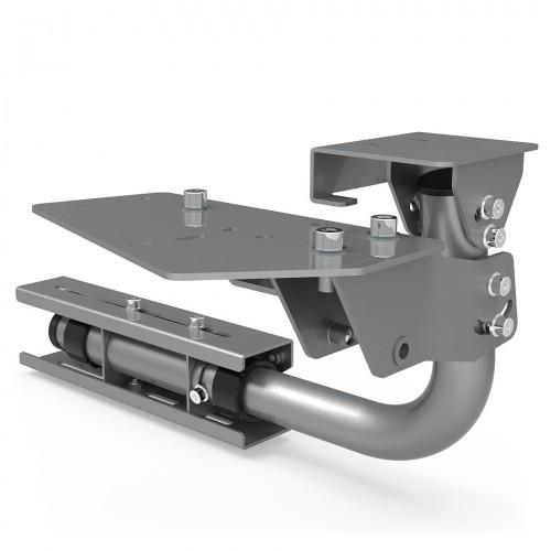Support shifter et frein à main pour RSeat N1 gris métal