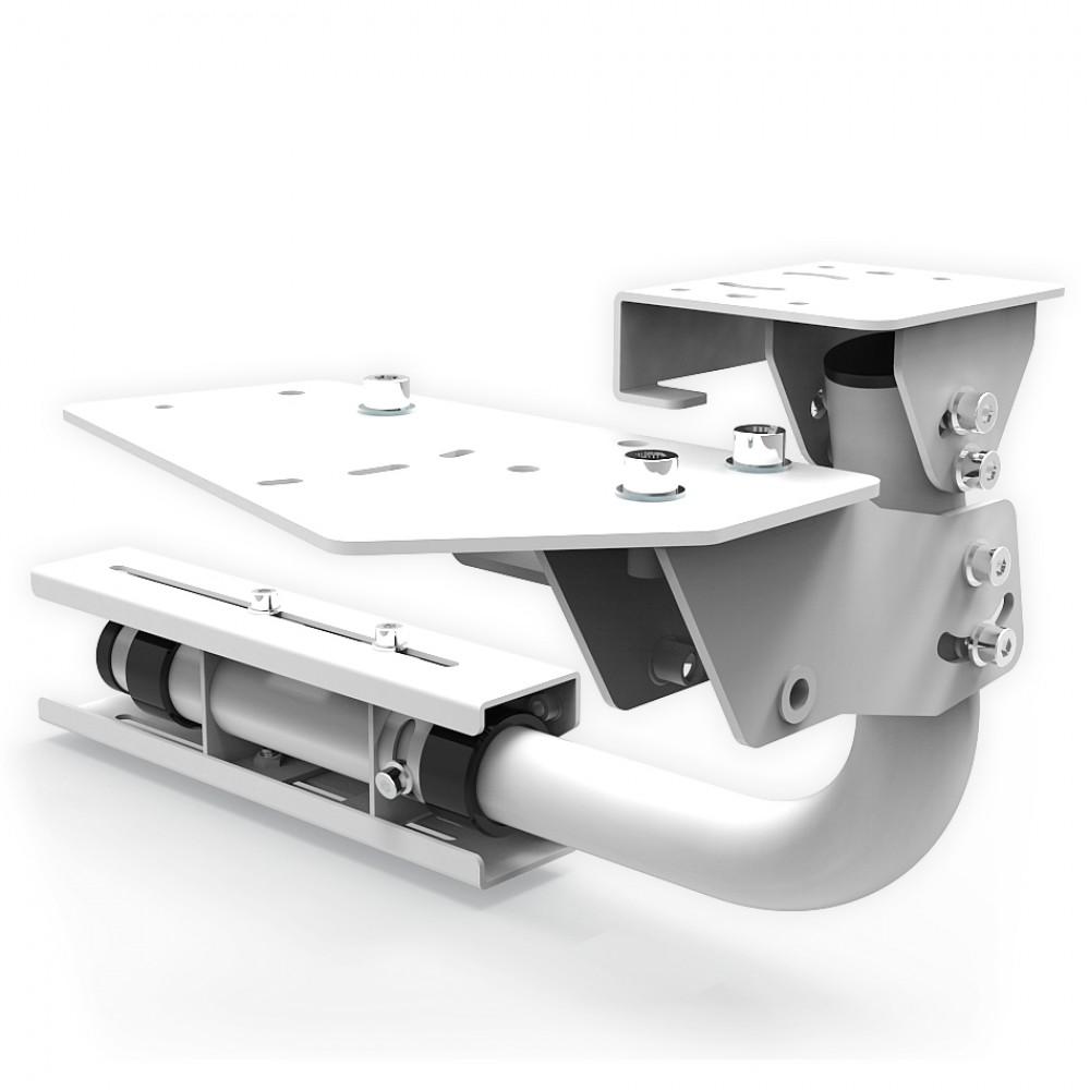 Support shifter et frein à main pour RSeat N1 blanc