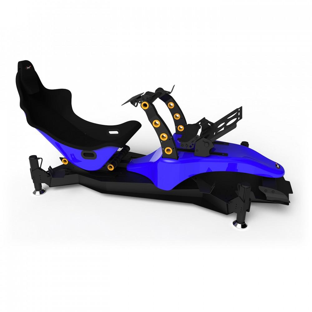 RS Formula M4A Blue Full Motion, Réglage électrique des pédales et du siège