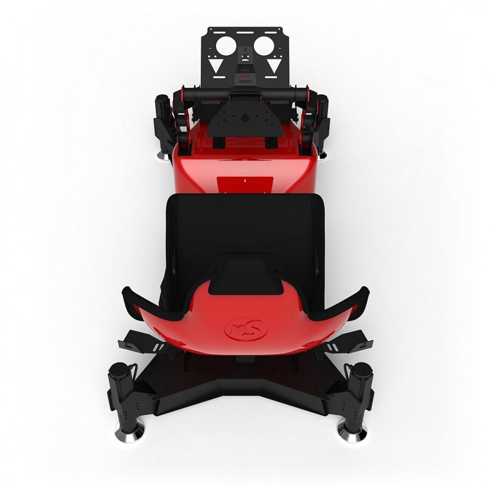 RS Formula M4A Red Full Motion, Réglage électrique des pédales et du siège