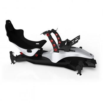 RS Formula M4A Silver-Red Full Motion, Réglage électrique des pédales et du siège
