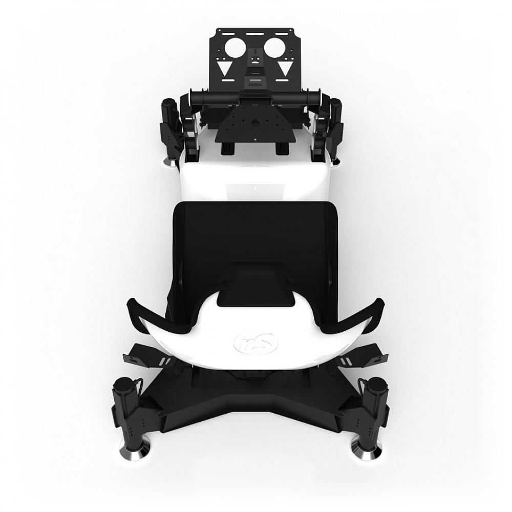 RS Formula M4A White Full Motion, Réglage électrique des pédales et du siège