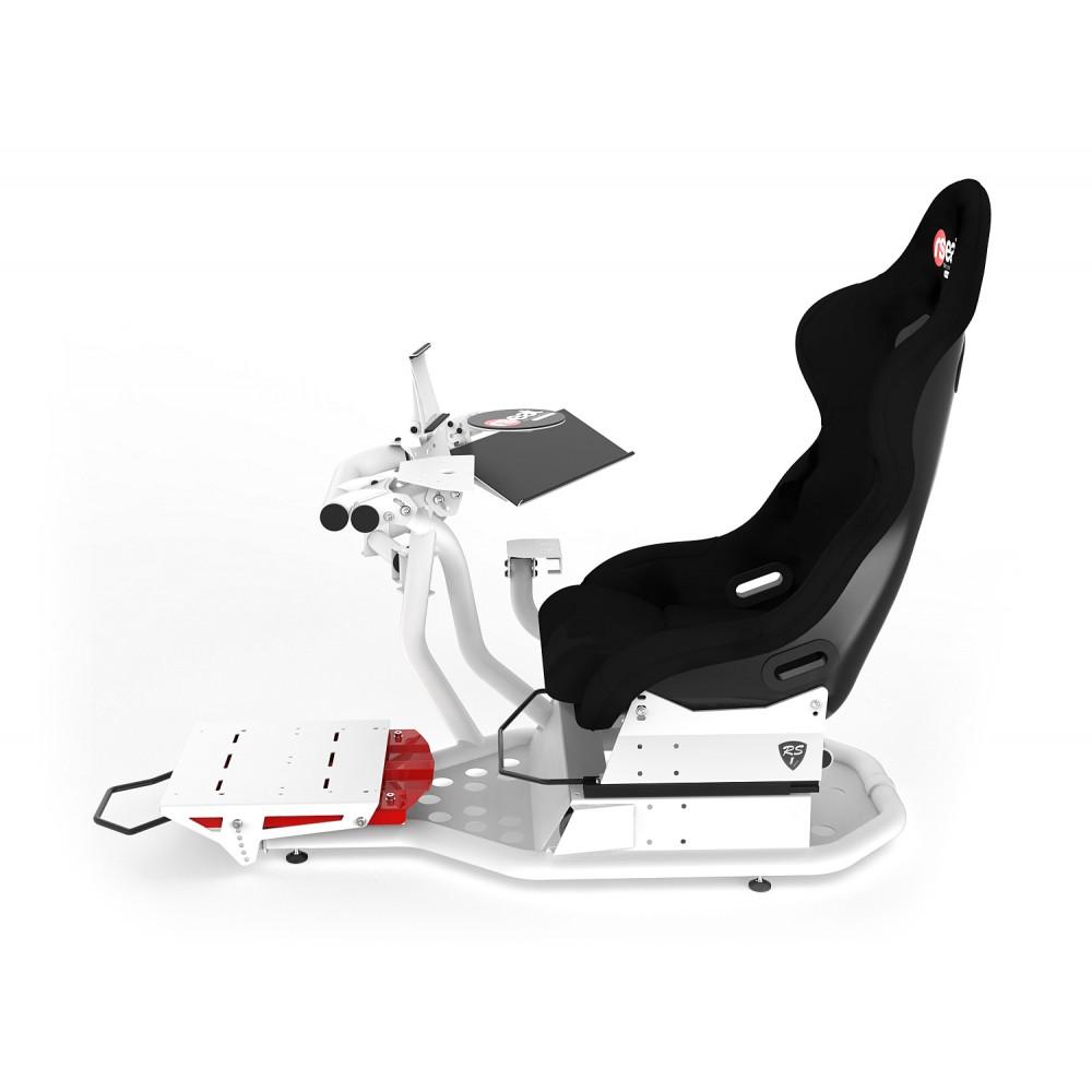 RS1 Support Pédalier PRO Kit Blanc